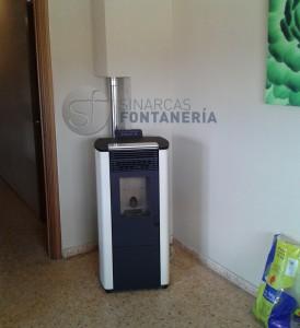 Estufa Pellet Sinarcas Fontanería