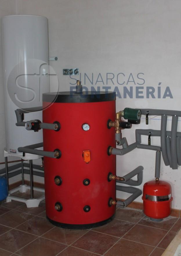 Caldera Sinarcas Fontanería