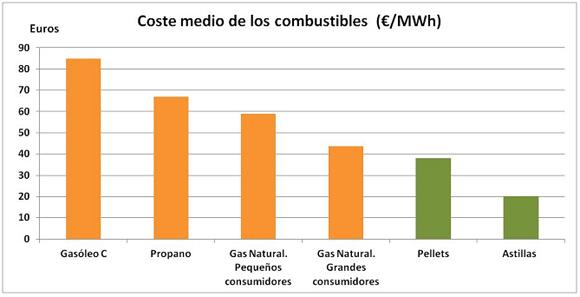 Coste Energía Biomasa
